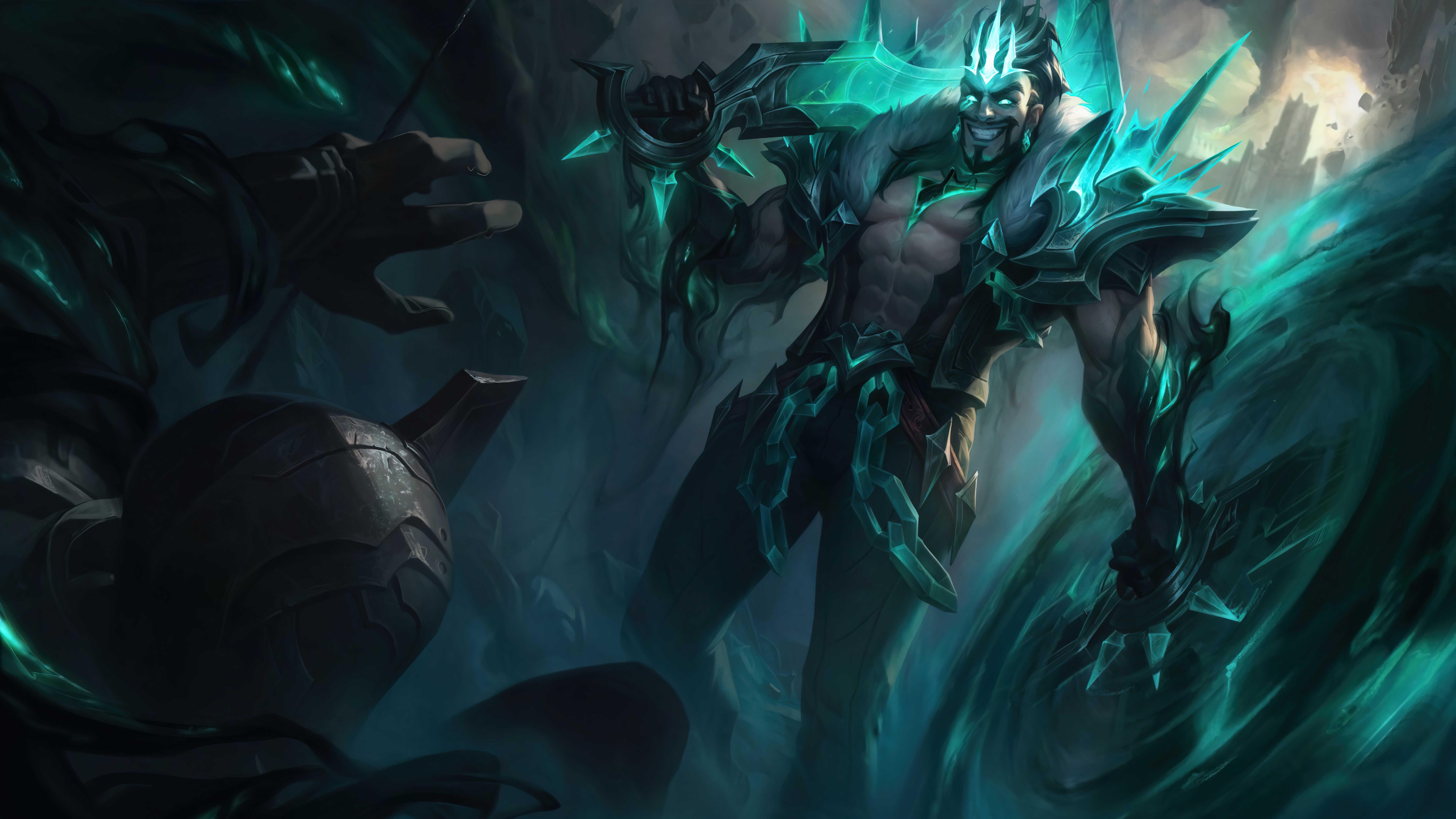 League Of Legends Wallpaper Draven4k
