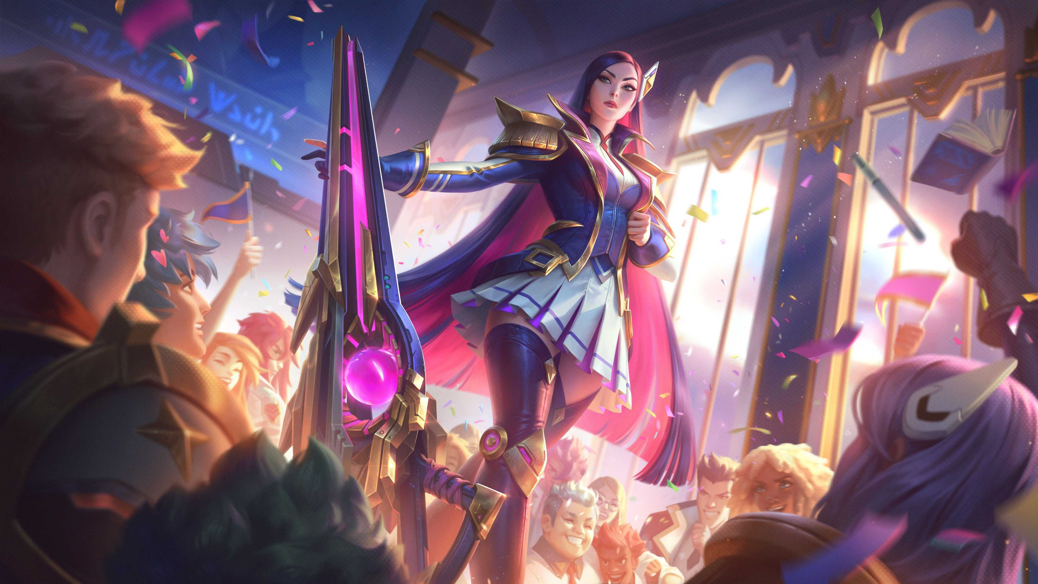 League Of Legends Wallpapernew Caitlyn