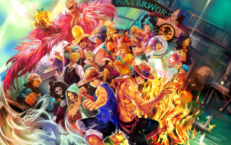Luffy One Piece Wallpaper Greenmapple17 Daily Anime Art By