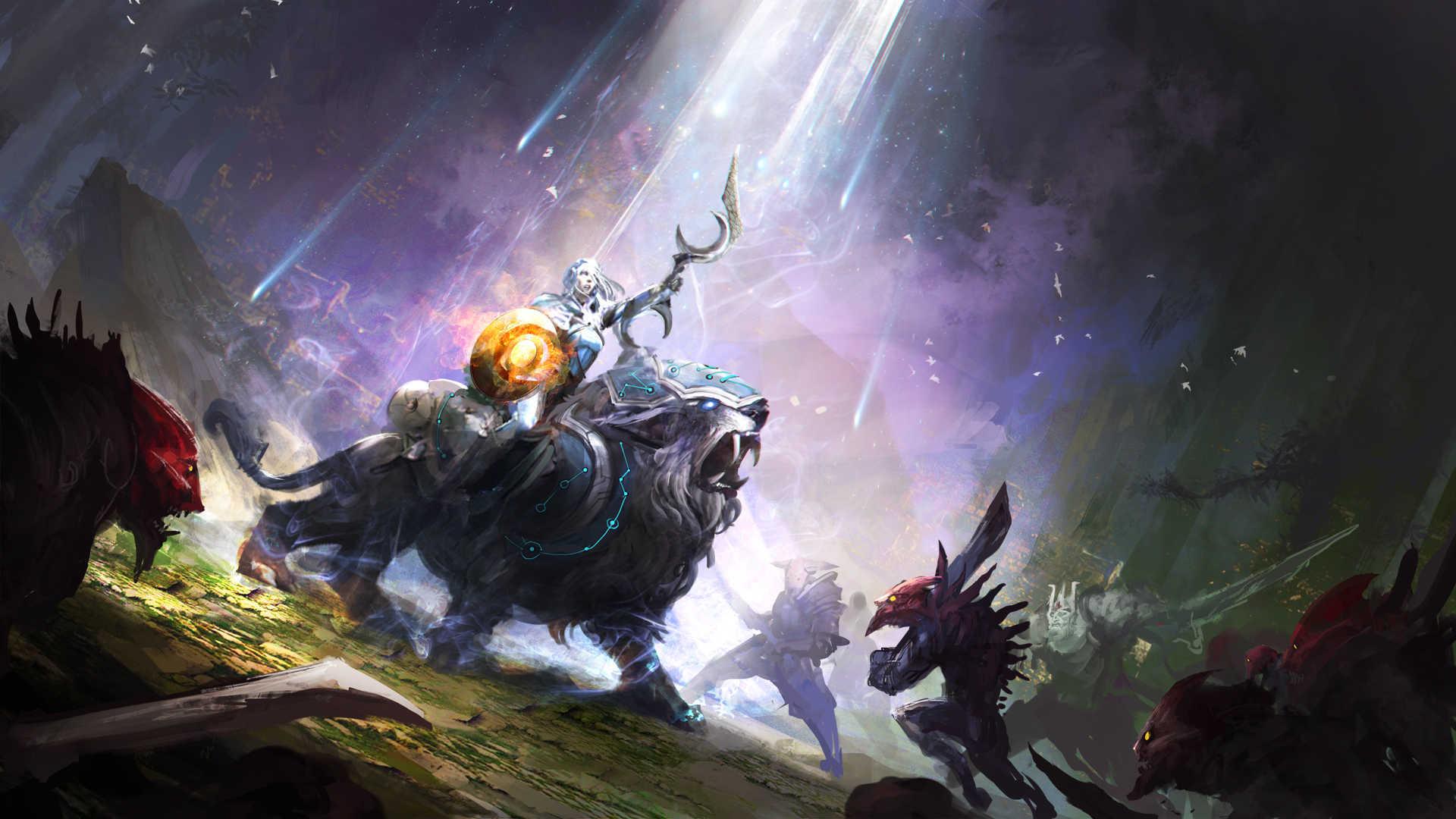 Monster In Dota 2 – Game Wallpaper Wallpaper