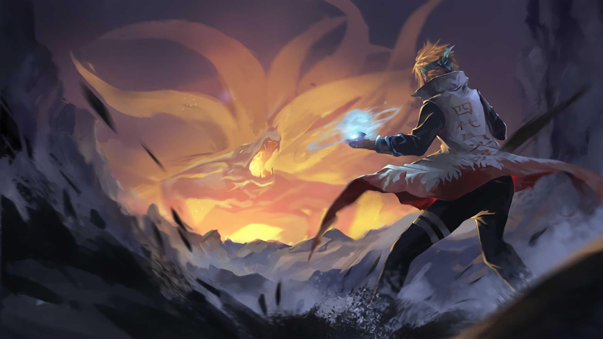 Naruto Namikaze Wallpapers Hd
