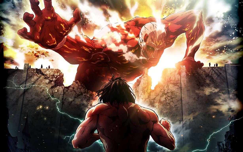 On Titan Hd Wallpaper On Titan Hd Background For Pc & Mac Attack