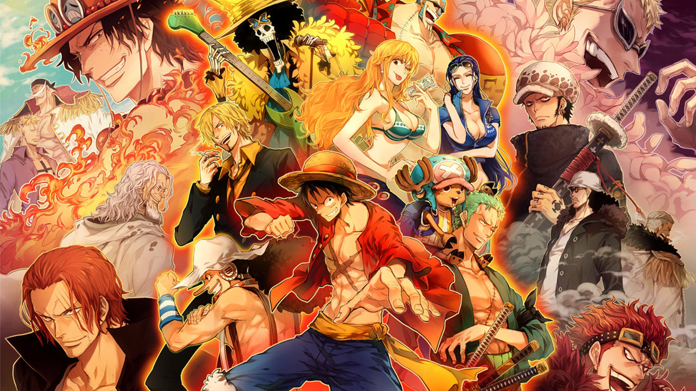 One Piece Ace Hd By Geeksoul Daily Anime Art Wallpaper