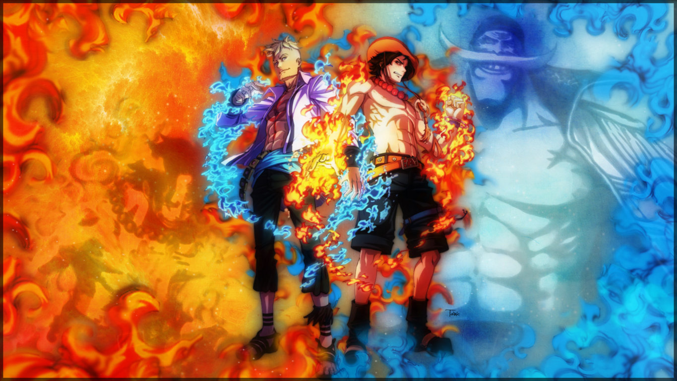 One Piece Wallpaper Background Screen Of Smartphone High Full