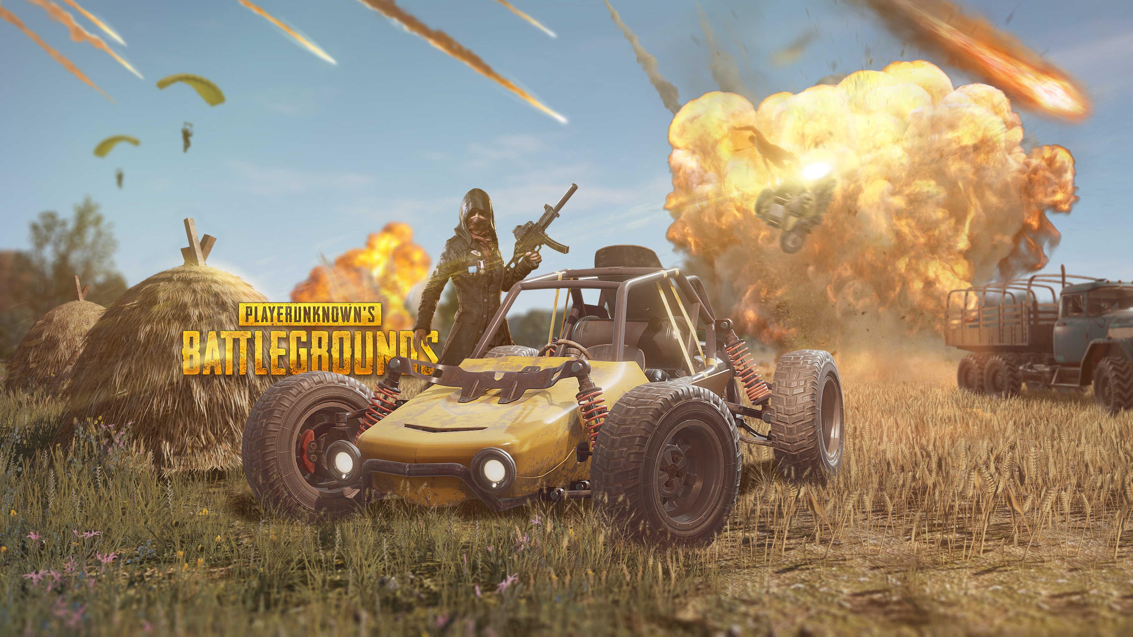 Playerunknowns Battlegrounds Car 4k Wallpapers Hd Desktop
