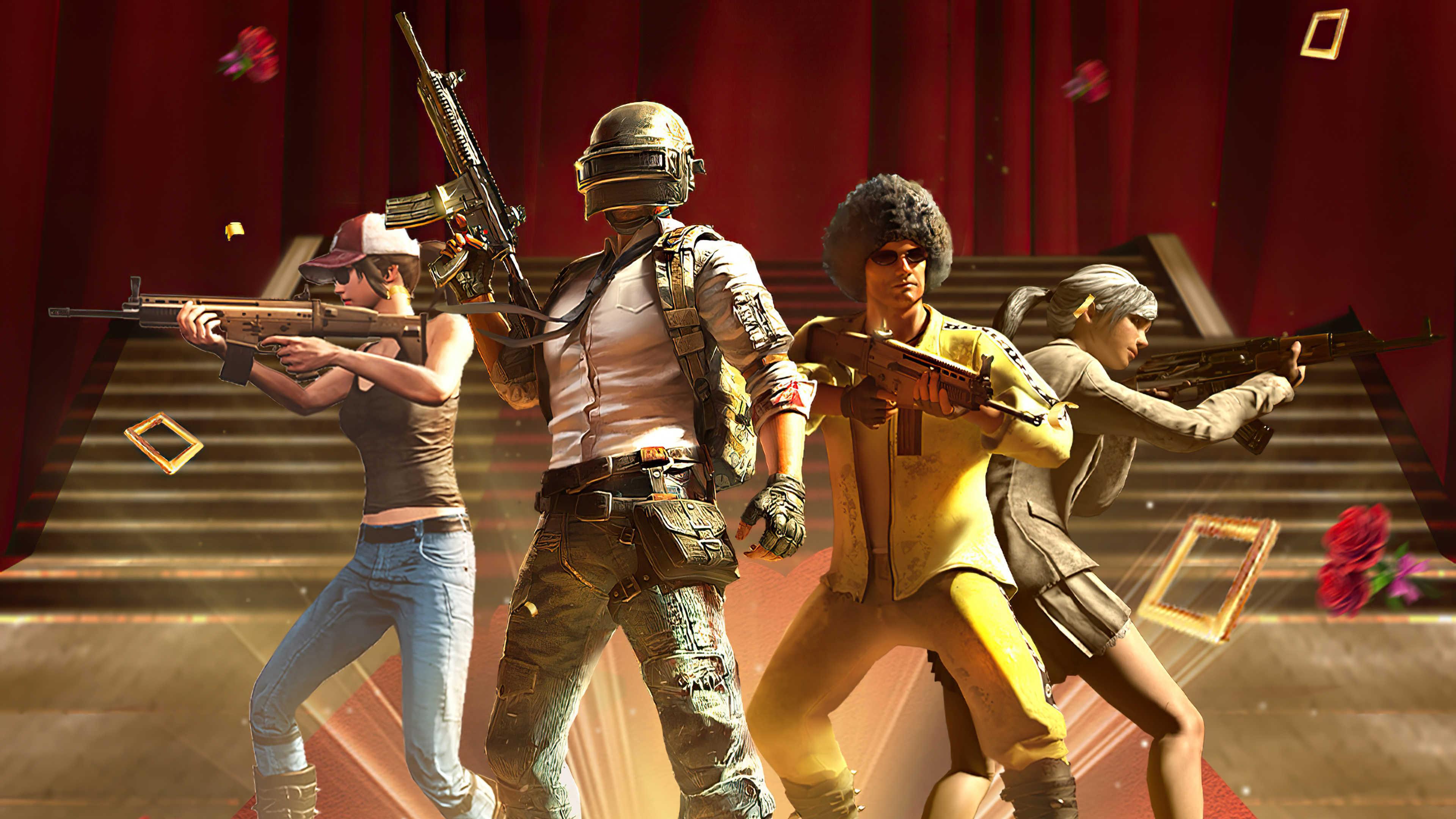 Playerunknown's Battlegrounds Hd Team Wallpaper