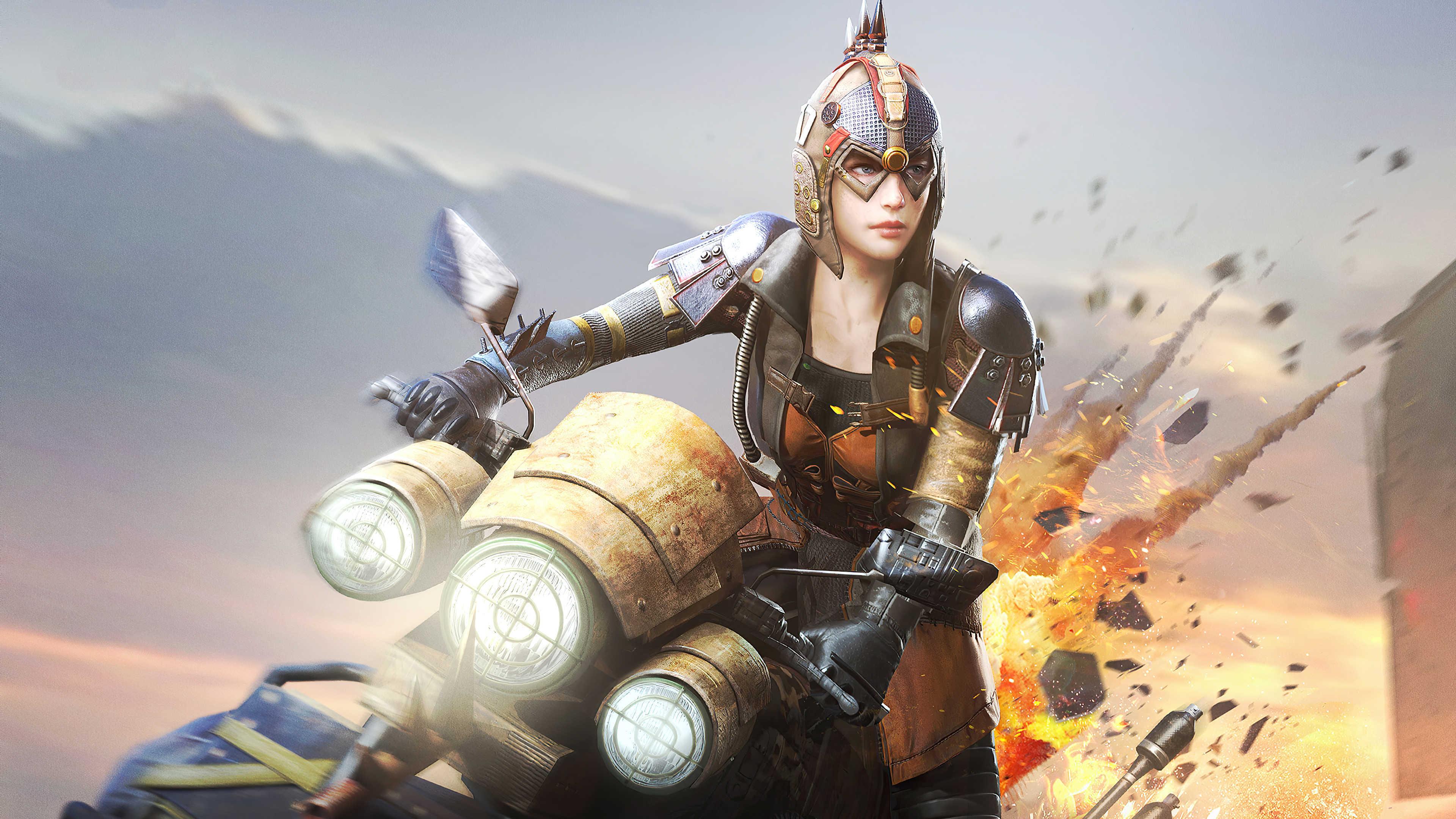 Playerunknown's Bike Battlegrounds [Video Game]
