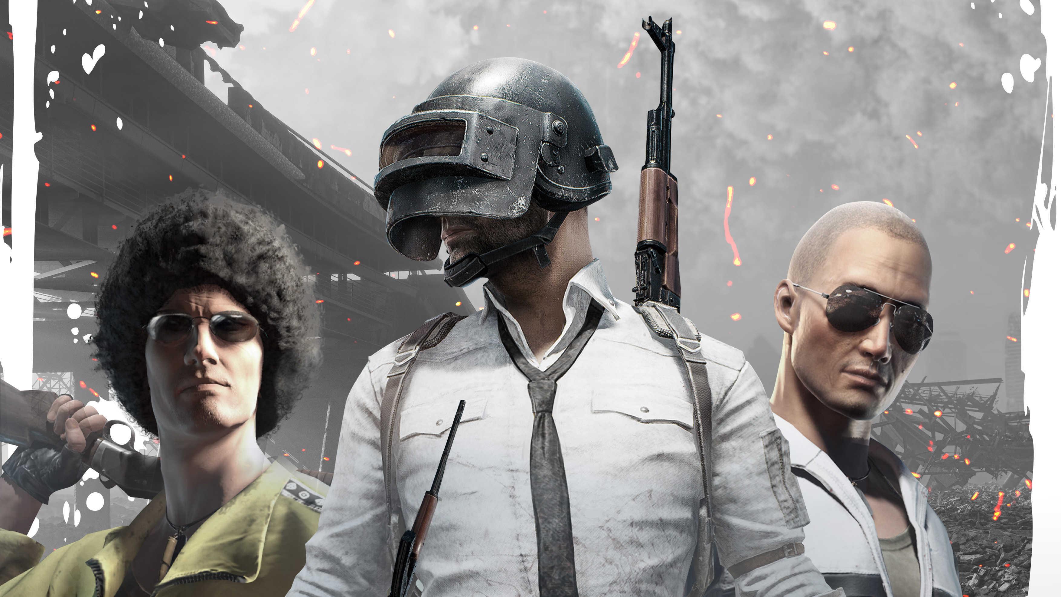 Playerunknown's Team Battlegrounds Hd Wallpapers