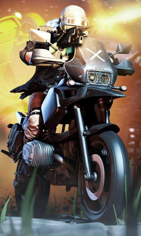 Pubg Bike Mobile Hd Wallpaper