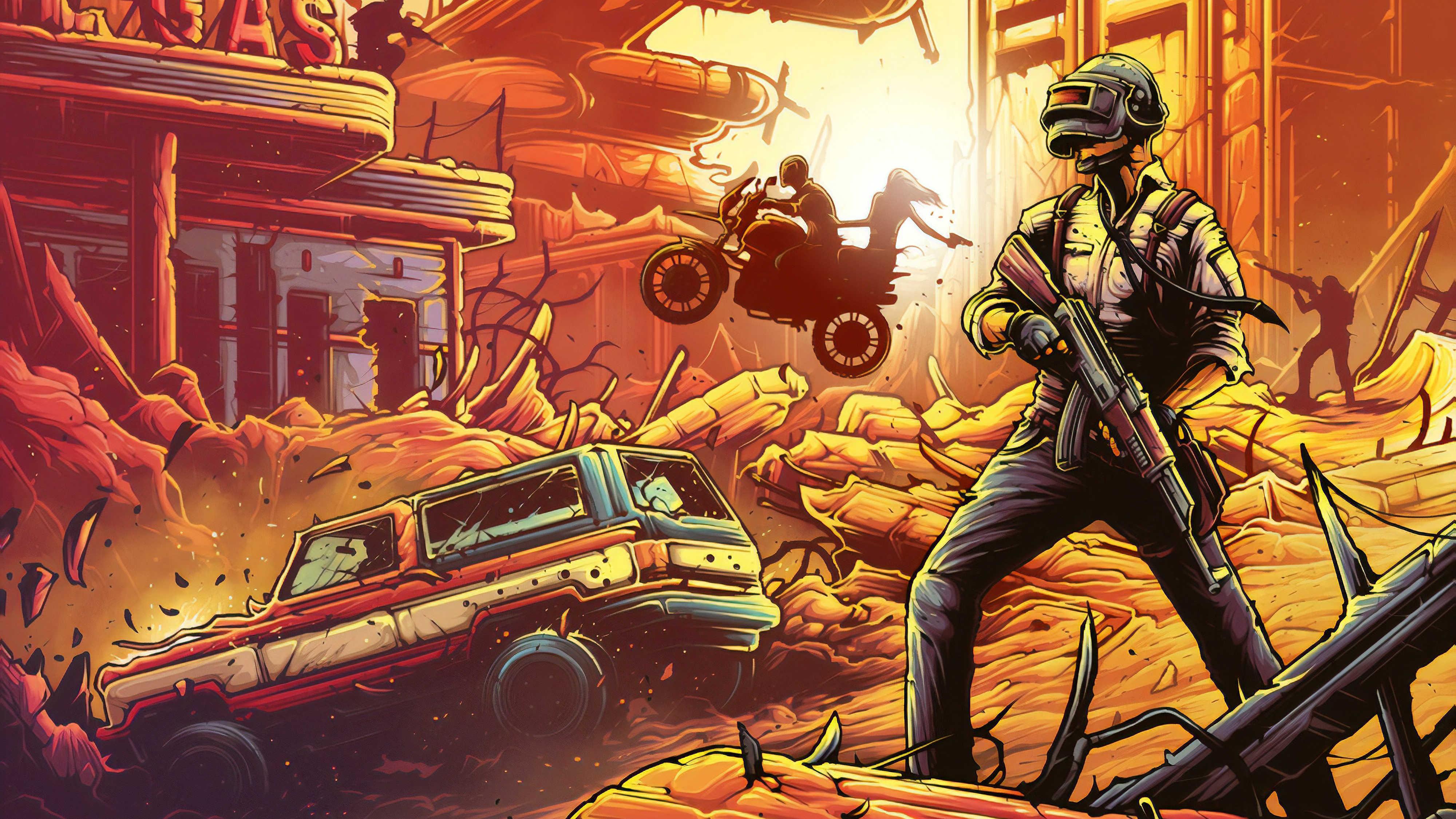 Pubg Dark Helmet Man Hd Games 4k Wallpaper Image Background 4k