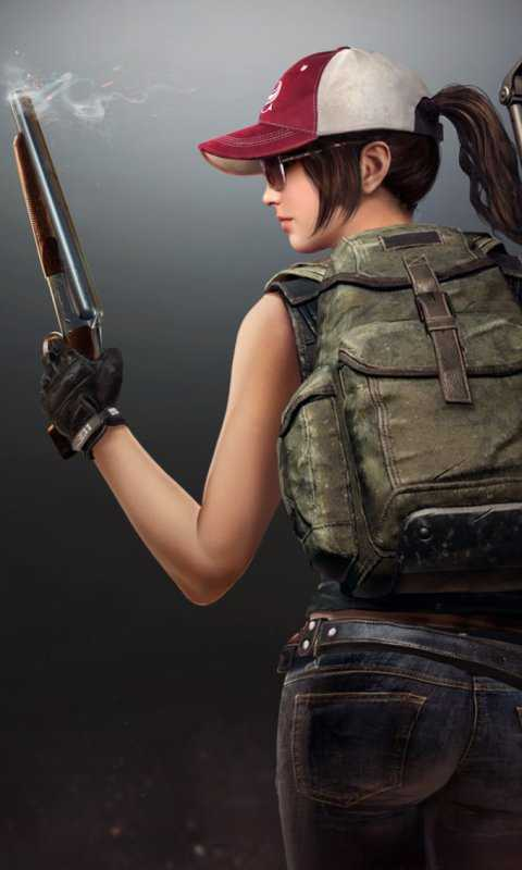 Pubg Girl Mobile Wallpaper Iphone And Android For