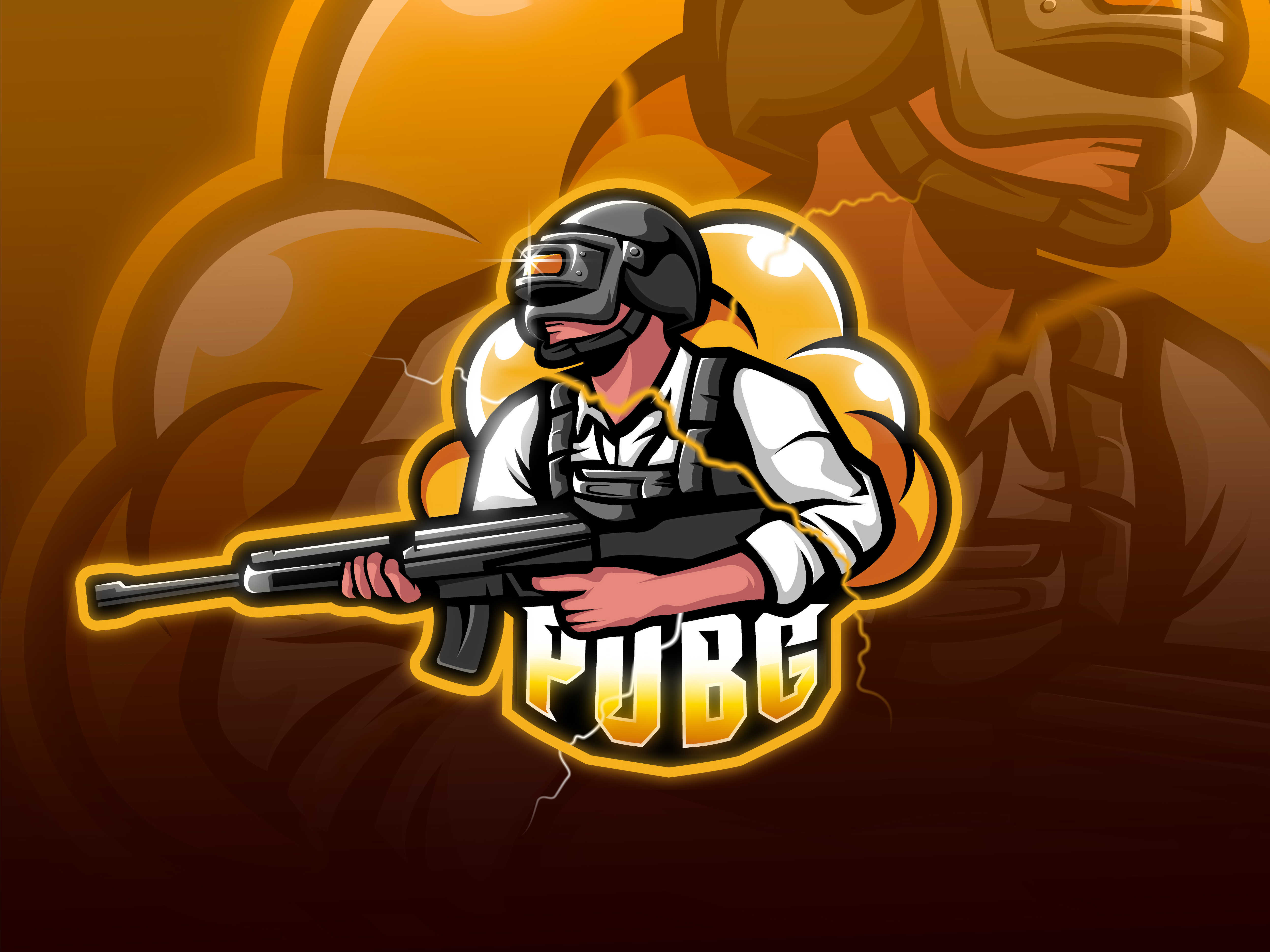 Pubg Logo Playerunknowns Battlegrounds 32 Backgrounds