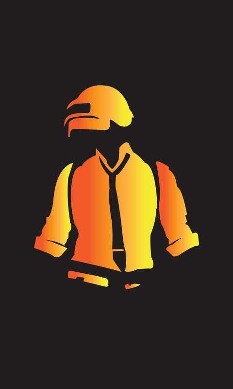 Pubg Mobile Helmet Guy Hd 4k Wallpaper Iphone