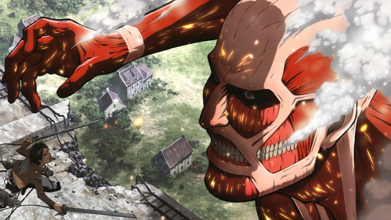 Reiner Braun Attack On Wallpaper Titan