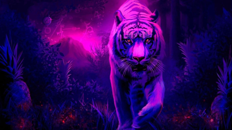 Running Tiger Wallpaper Wallpaper HD