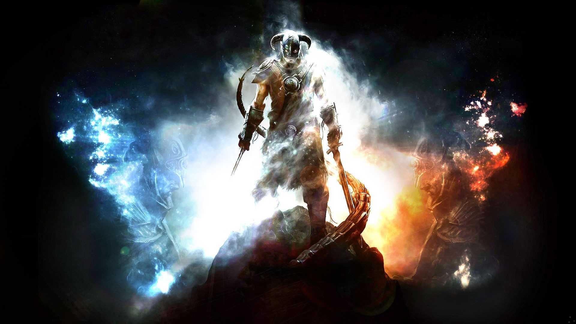 Skyrim Scrollss Elder Stars Night