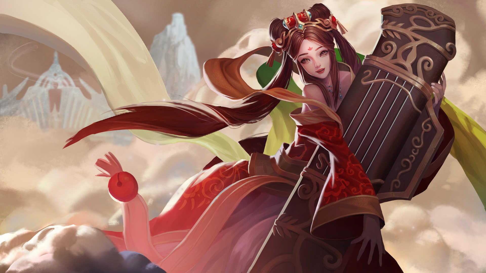 Sona League Of Legends Wallpaper Hd
