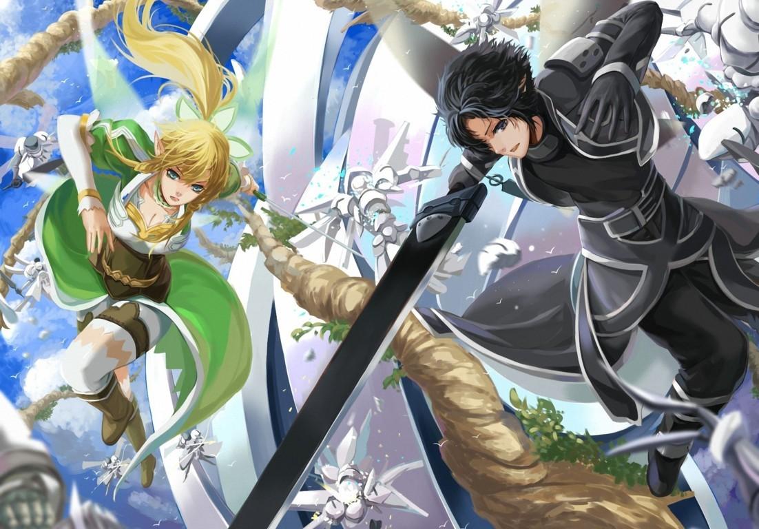Sword Art Online iPhone Wallpaper
