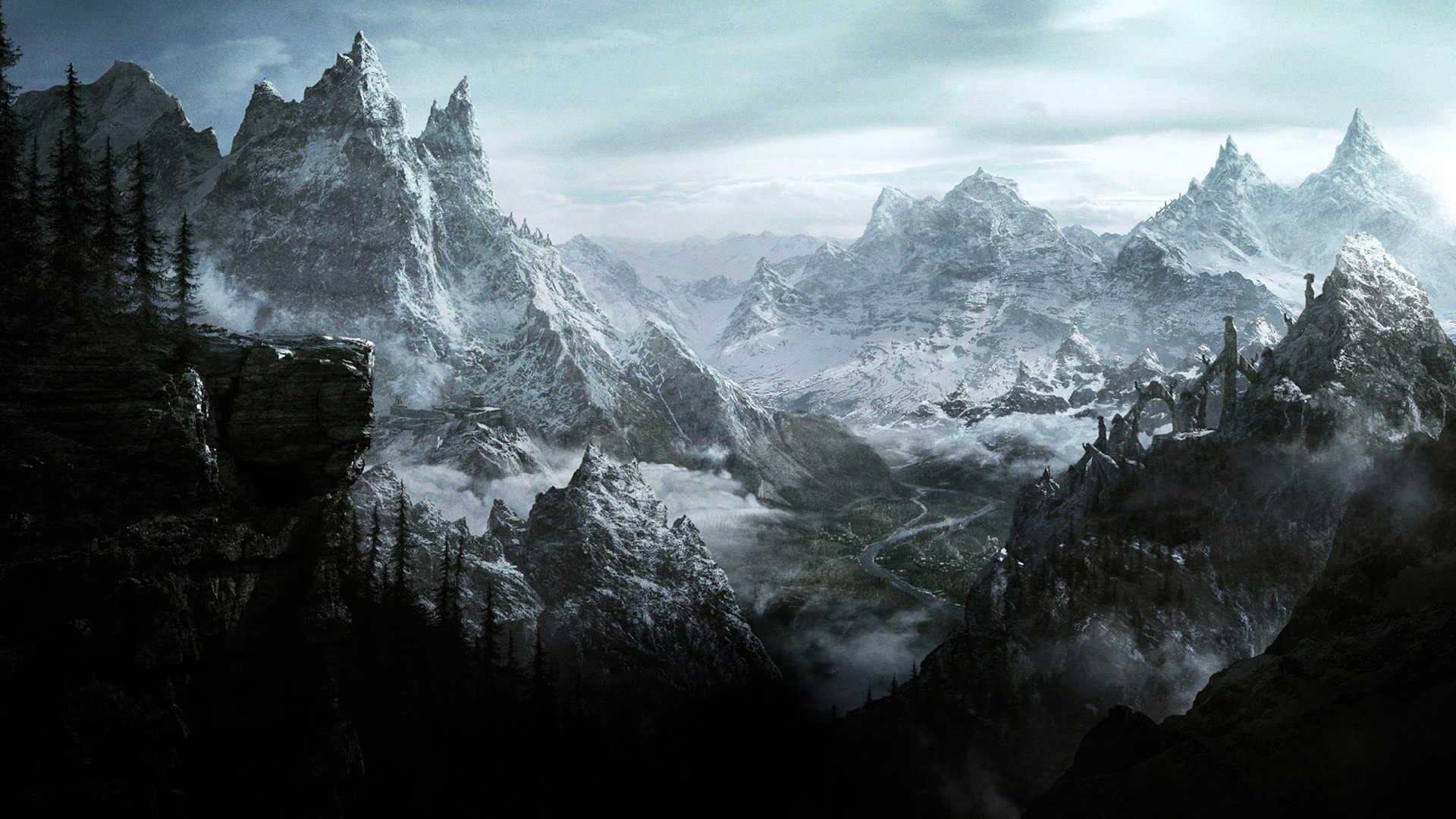 The Elder Scrolls V Hd Wallpaper Skyrim