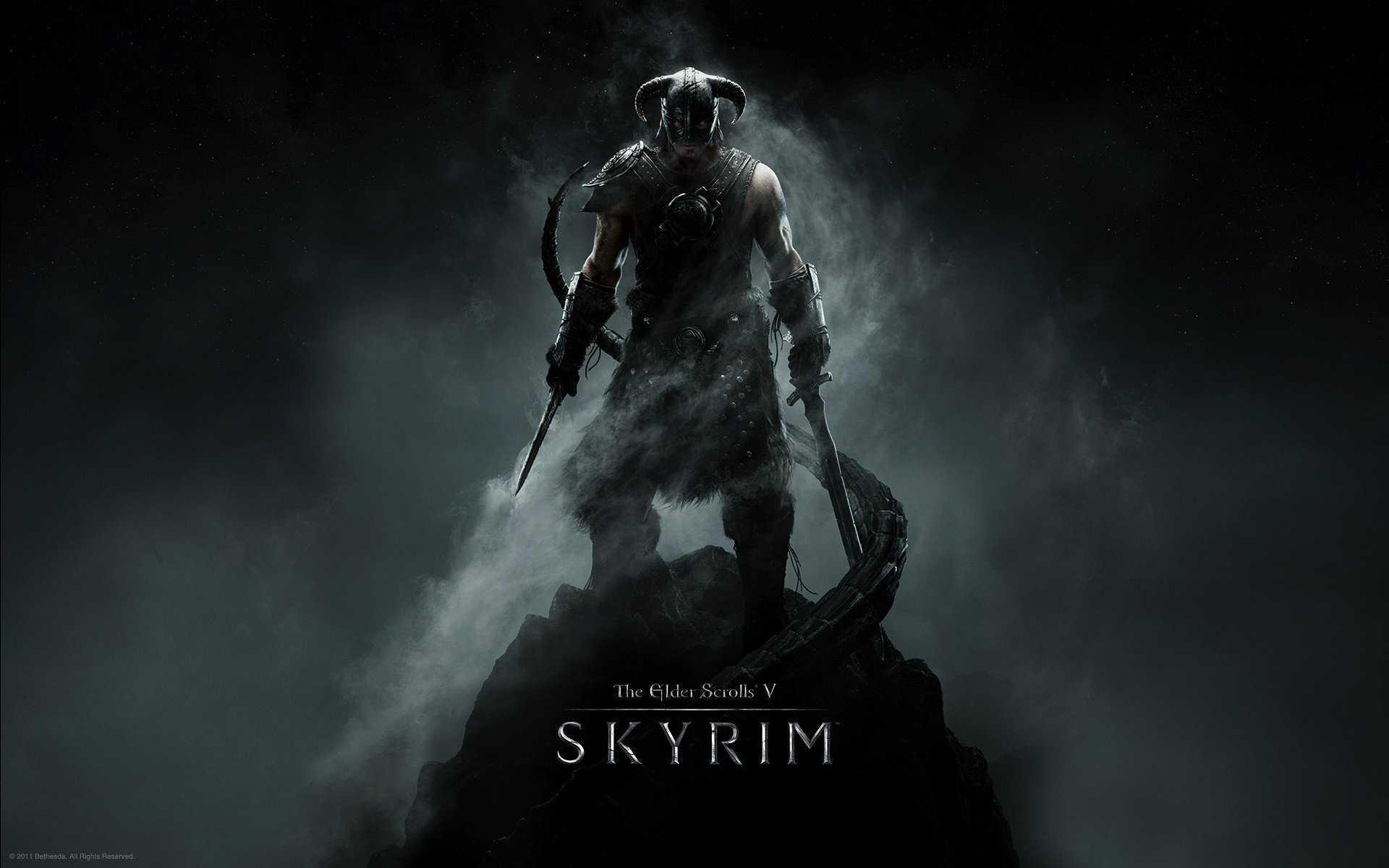The Elder Scrolls V Key Art 4k Hd Desktop Wallpaper For 4k Skyrim