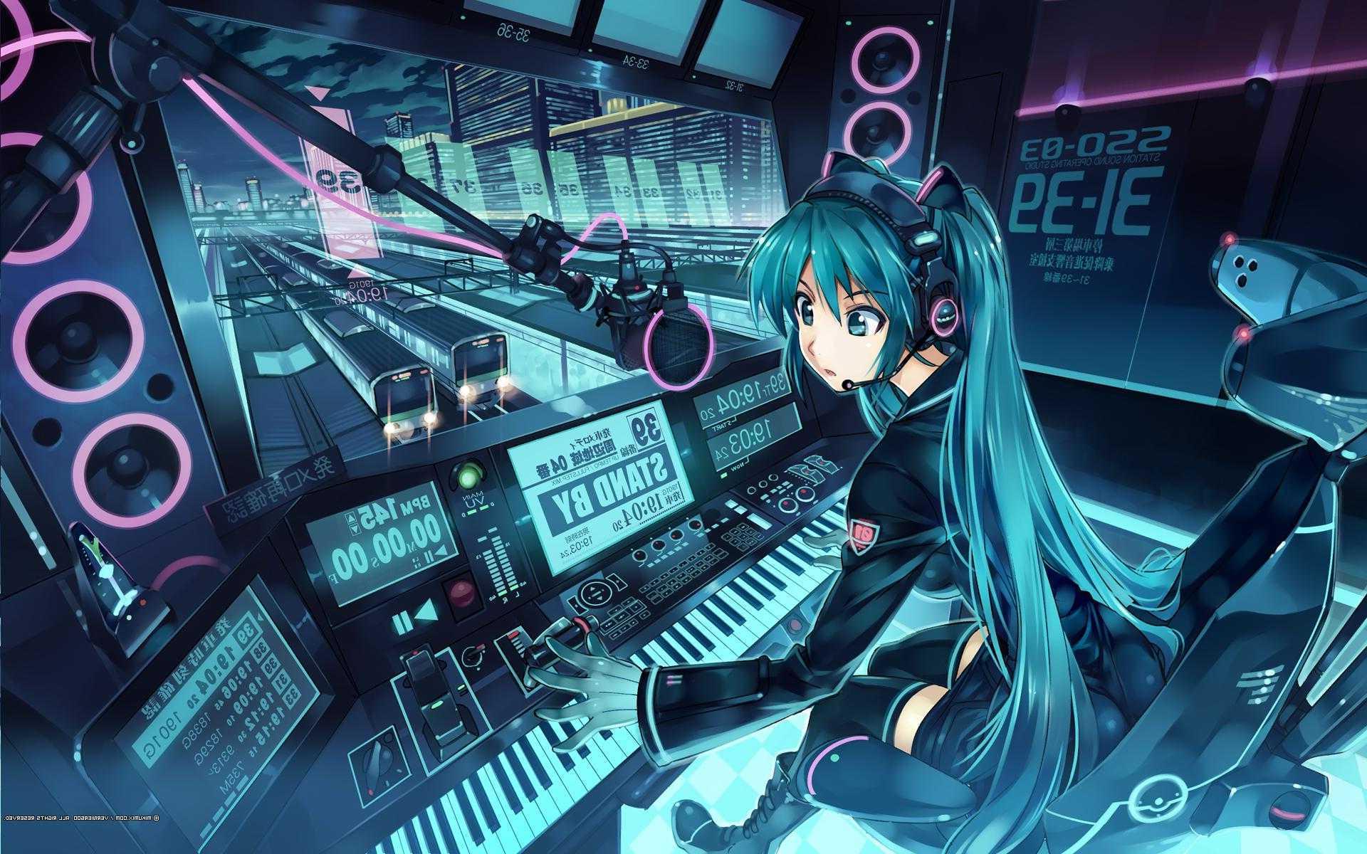 Ultra 4k Hd Vocaloid Wallpaper
