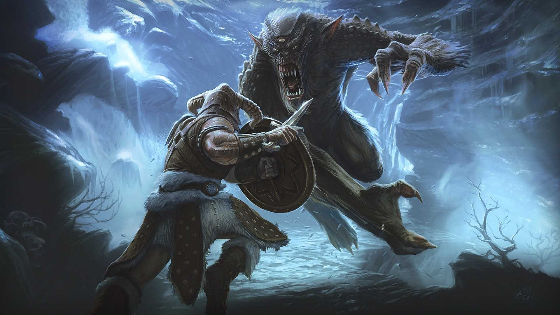 Ultra Hd The Elder V Skyrim Wallpaper Background Scrolls