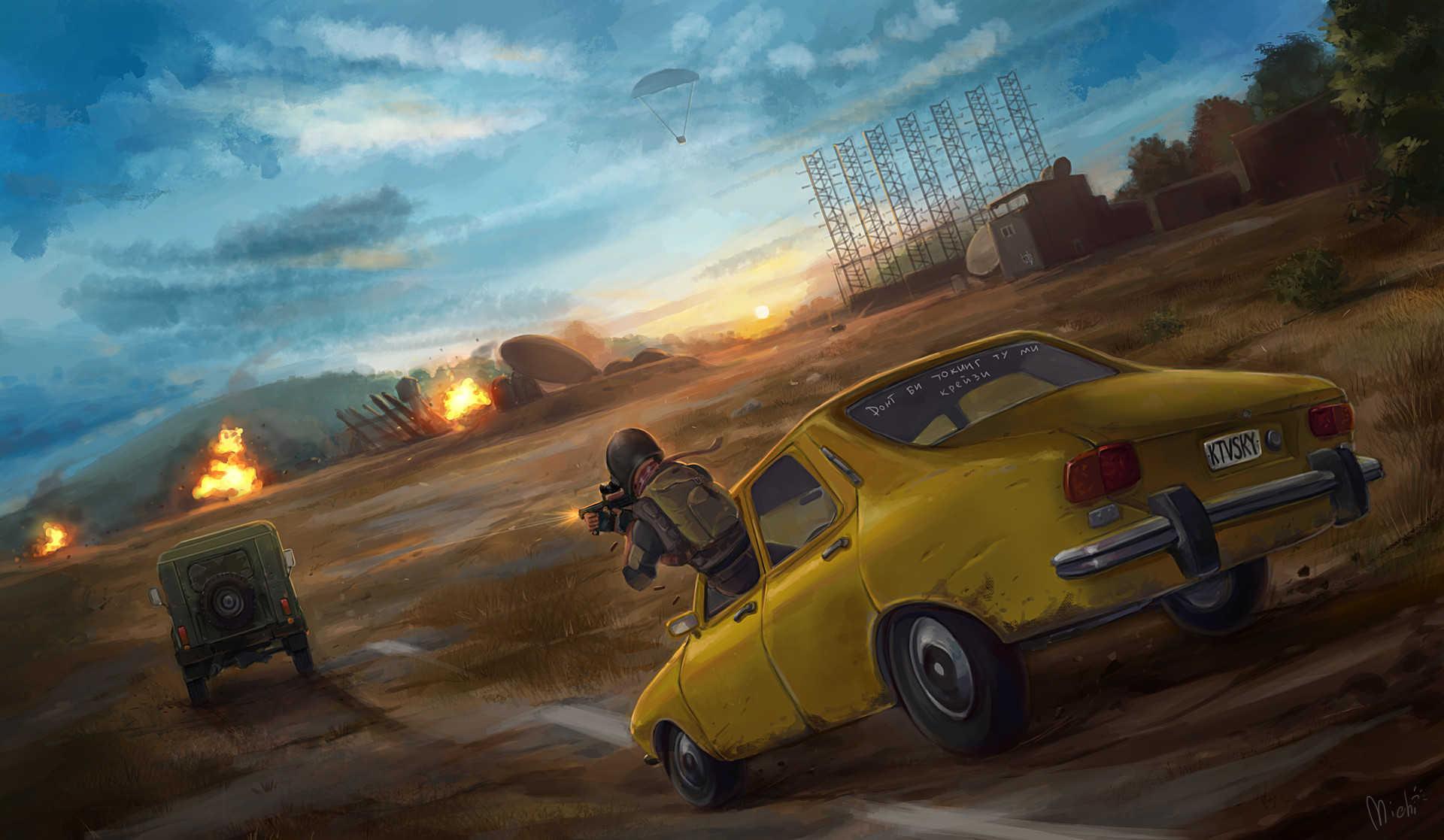 Video Game Playerunknown's Battlegrounds Battlegrounds Hd Wallpaper _ Background Ima_0211 Playerunknown's