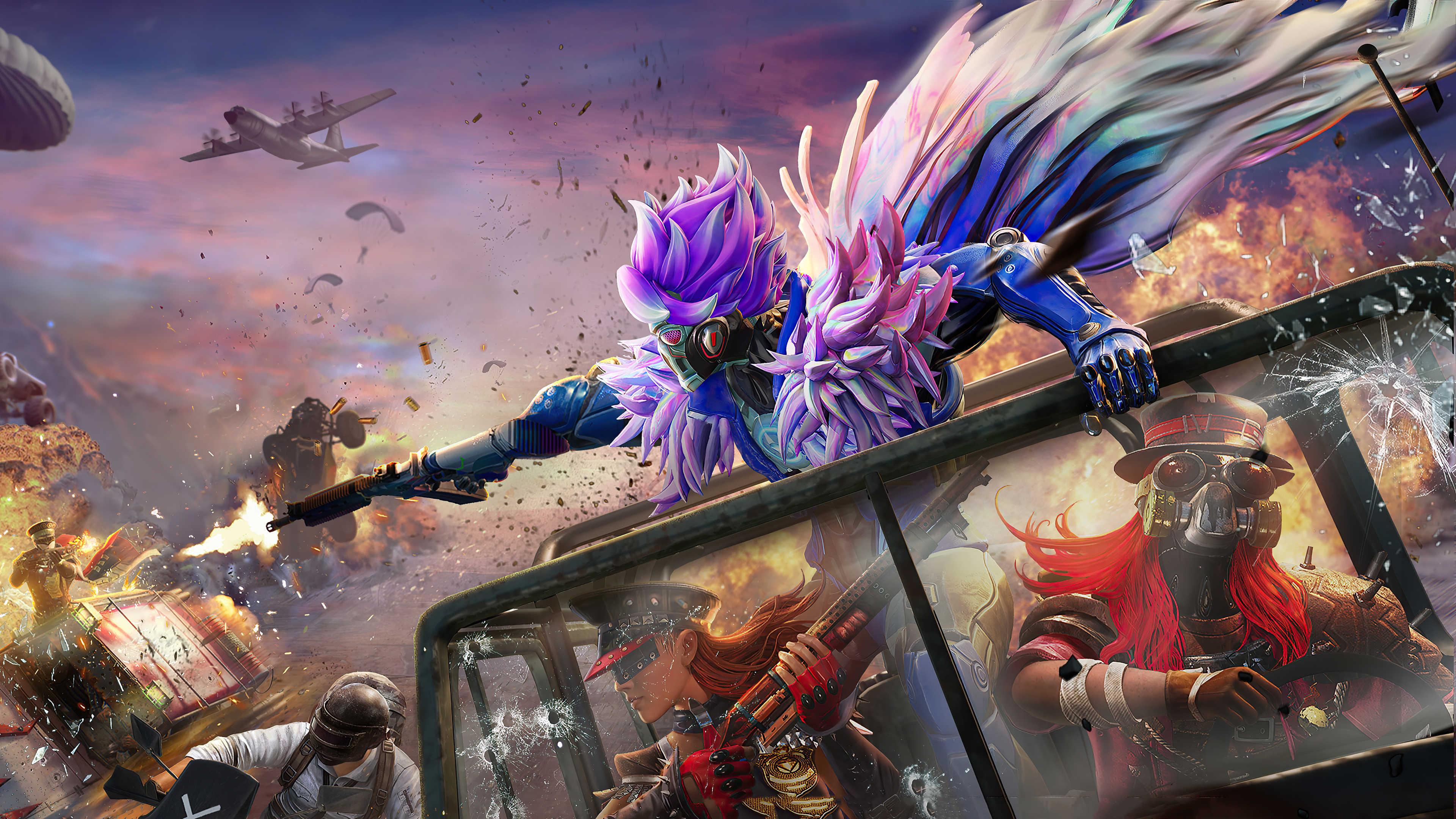 Video Game Playerunknown's Battlegrounds Man