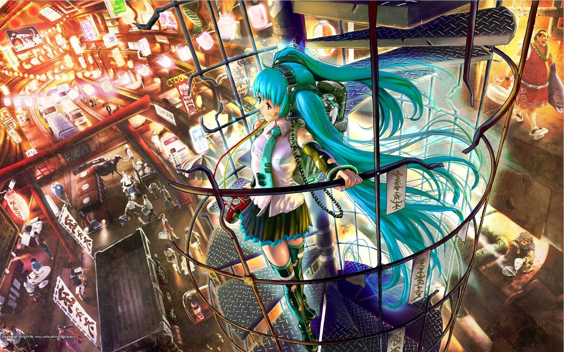 Vocaloid Wallpaper Free Hd Background Download Wallpaper