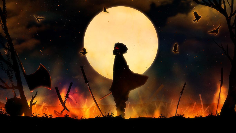 Wallpaper Background Mask Guy Slayer Kimetsu No Yaiba Demon