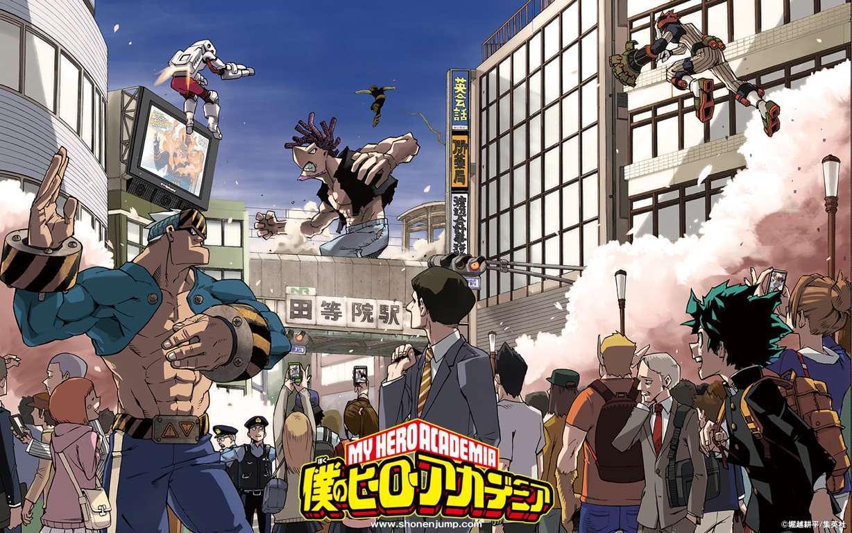 Wallpaper Engine Katsuki Bakugou No Hero Academia Boku
