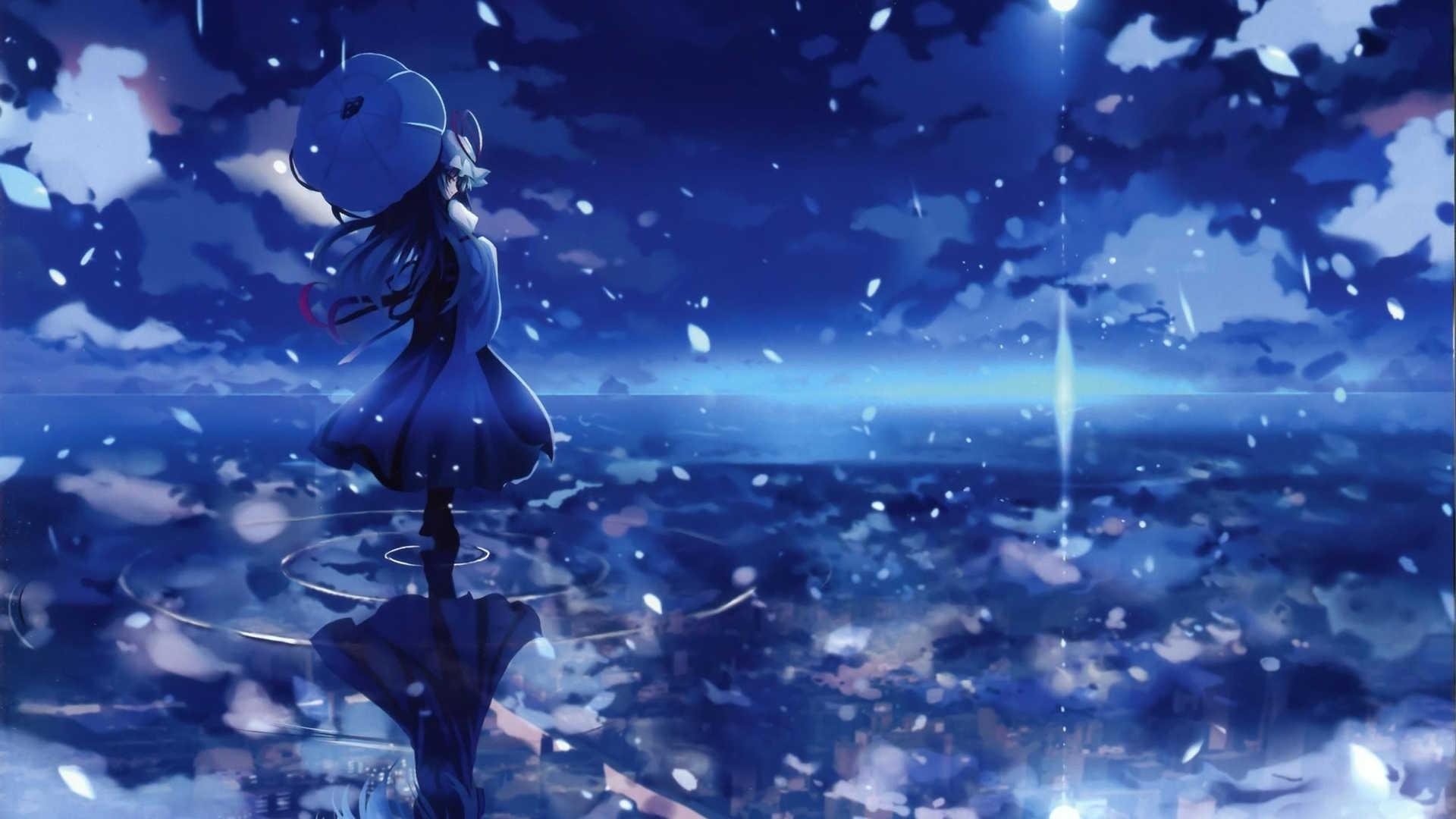 Wallpaper Girl Background Sword Image Touhou