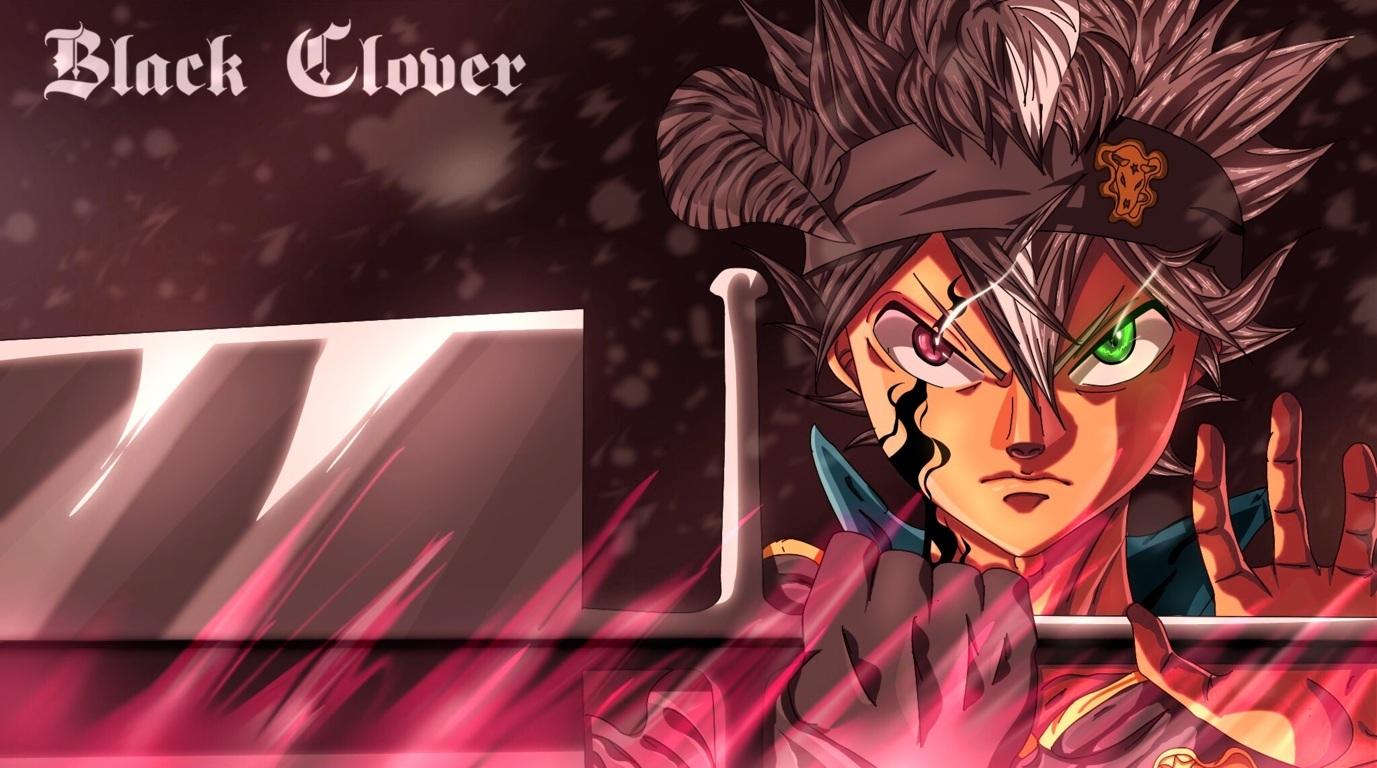 Wallpaper Of Anime Black Team Black Bulls Black Clover Clover