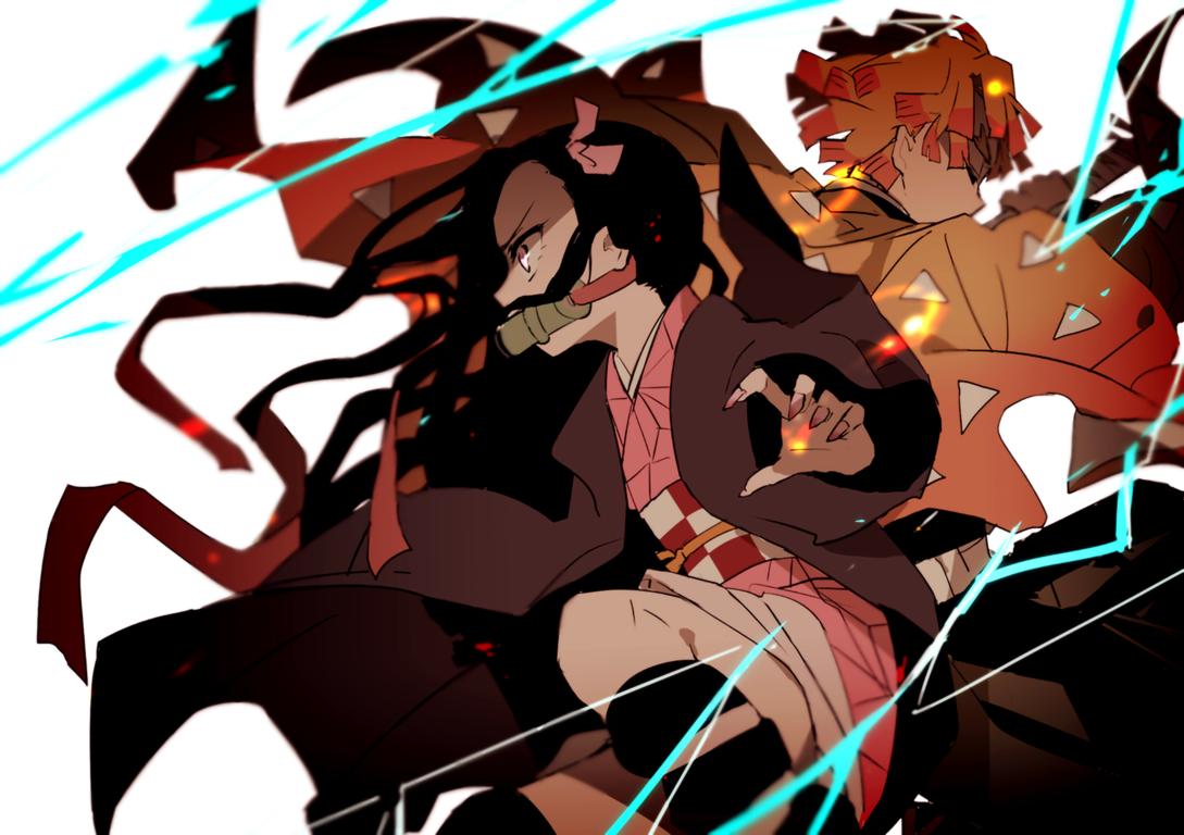 Wallpaper Of Tanjirou Kamado Slayer Kimetsu No Yaiba Demon