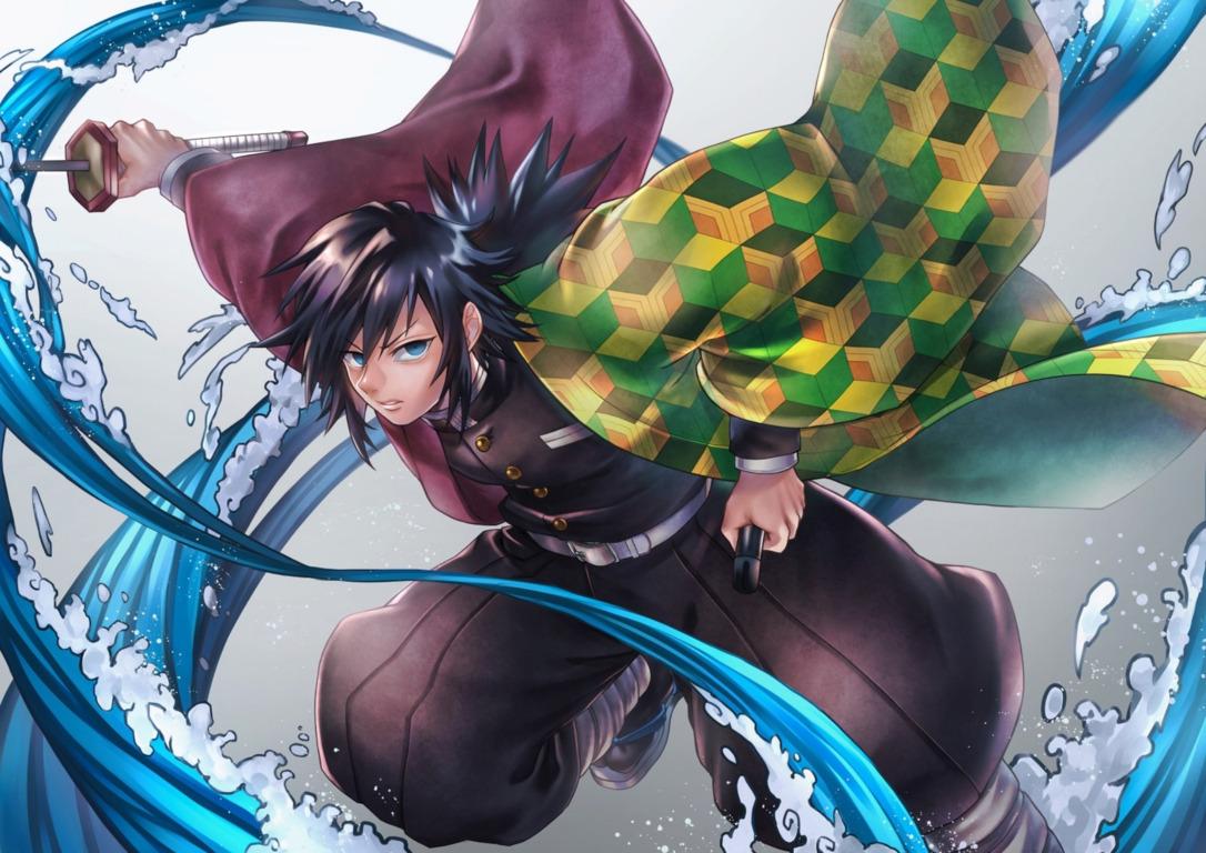 Wallpaper Sword Guy Demon Kimetsu No Yaiba Image Slayer