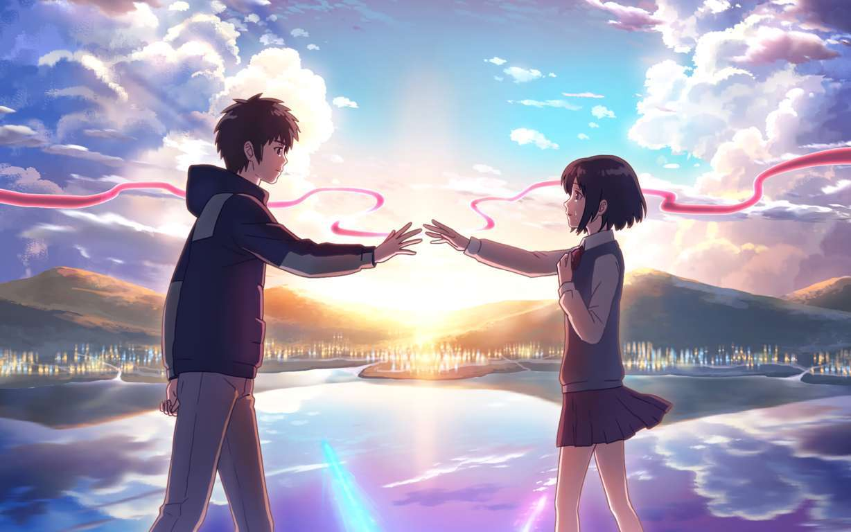 Wallpaper Your Name Anime Animation Movies Movies Best