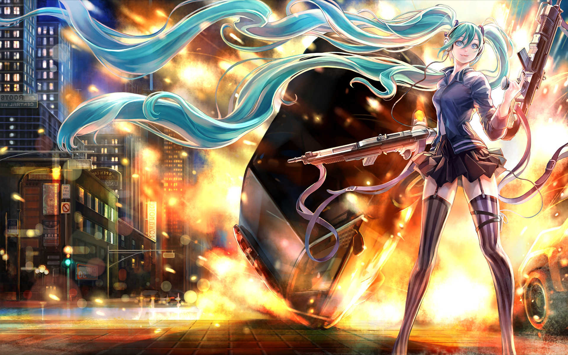 Wallpaper of the Day Vocaloid Word of The Nerd
