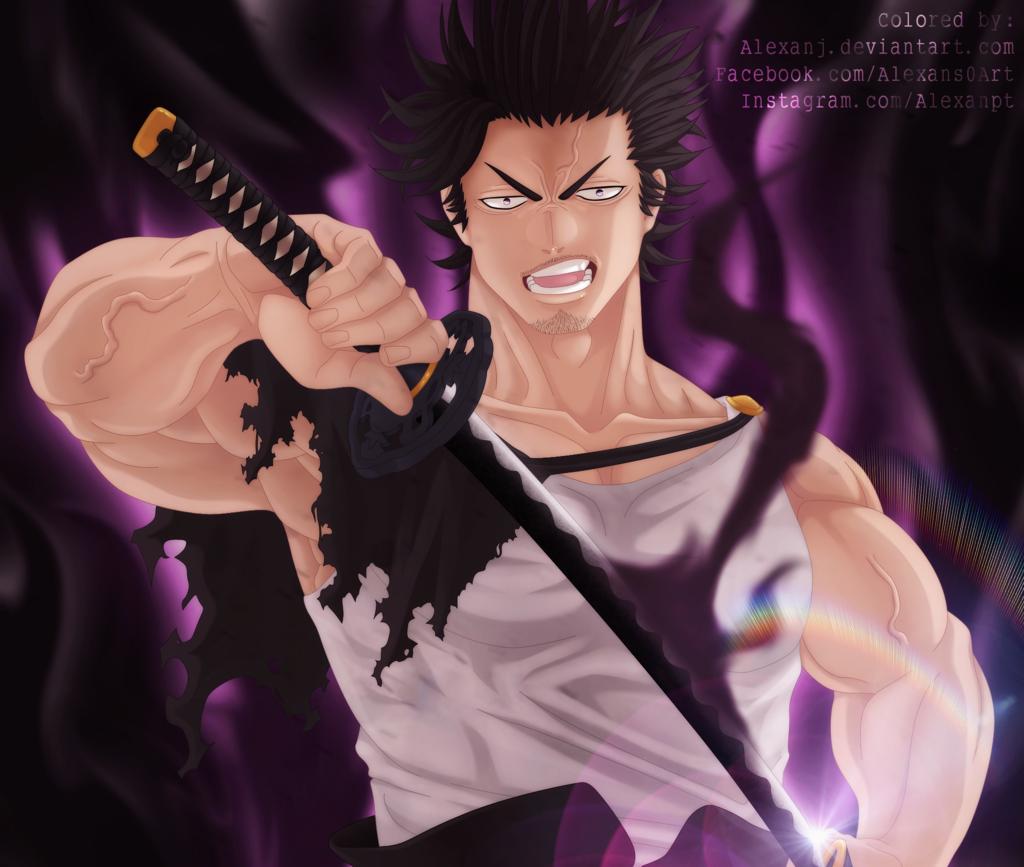 Yami Sukehiro Black Clover Boy Wallpaper Black Anime