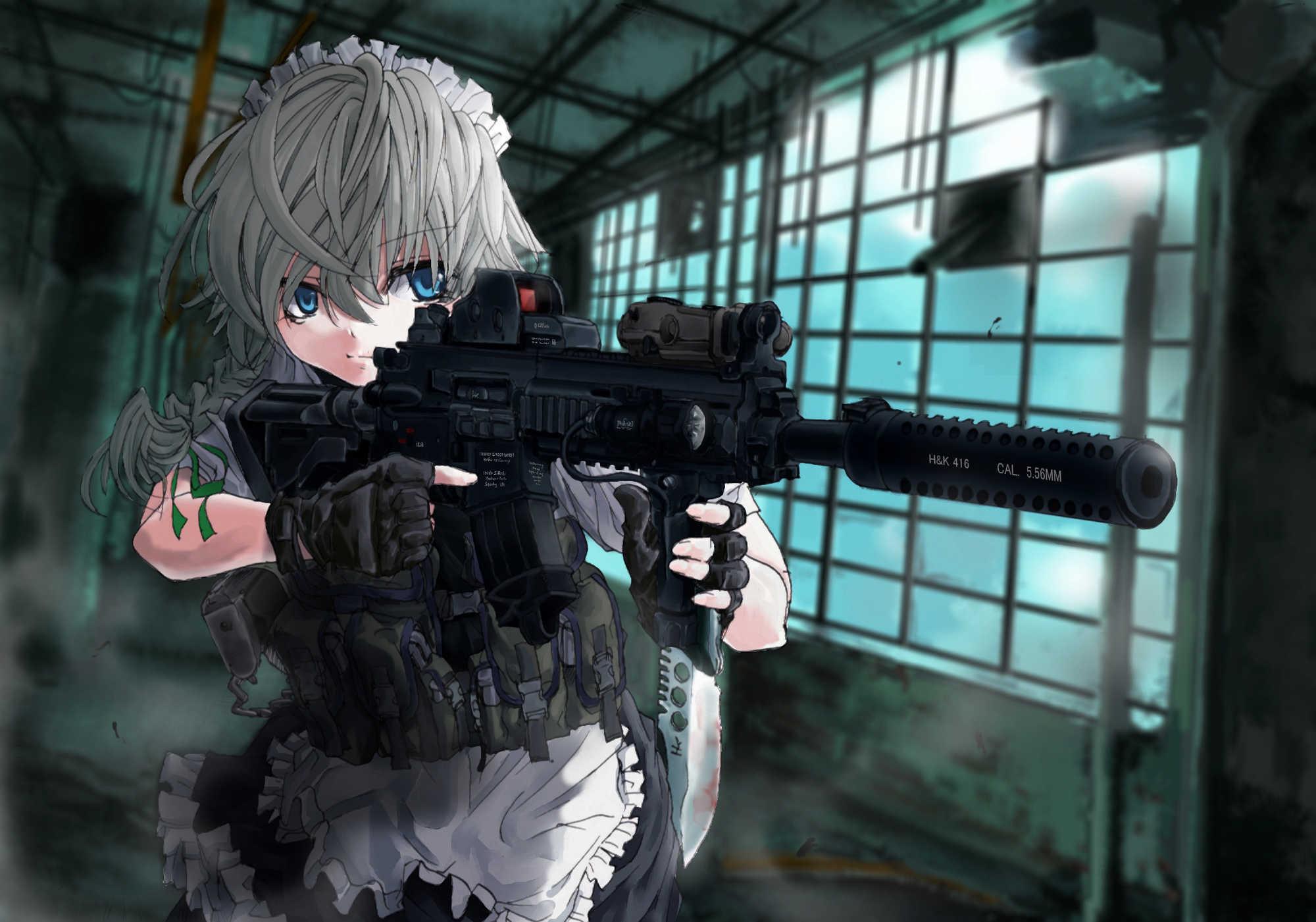 Youmu Konpaku Touhou Anime Wallpaper Girl