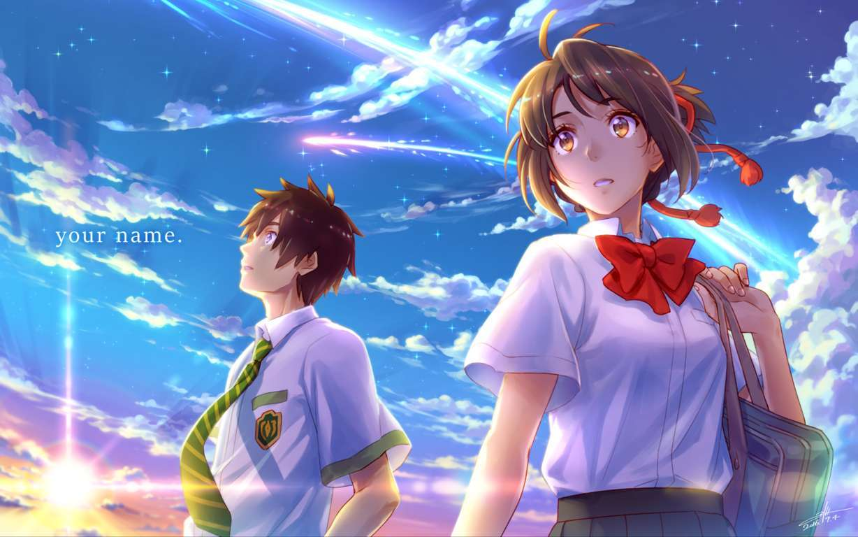 Your Name Anime Wallpaper Download Hd Wallpaperhd Wallpaper Tag
