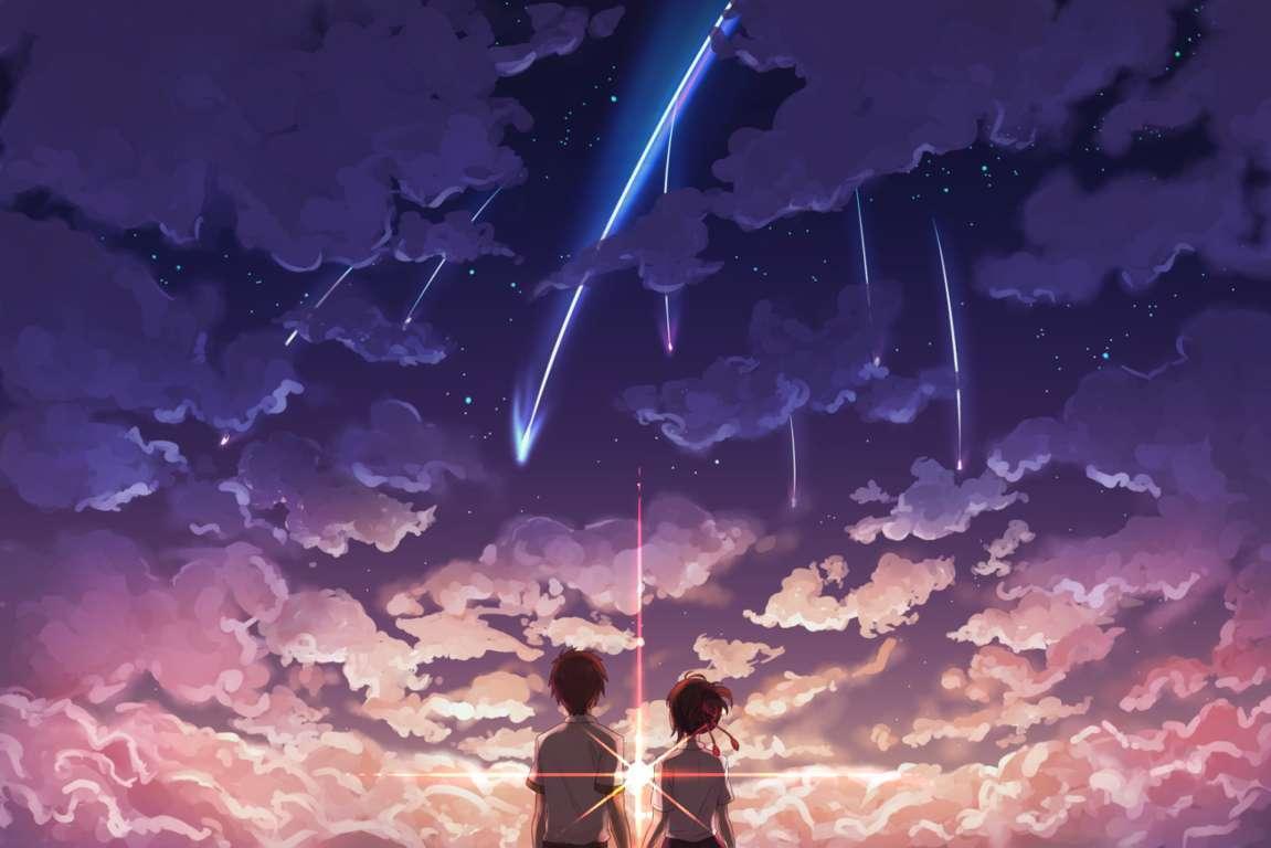 Your Name Kawaii Anime And Manga Wallpaper