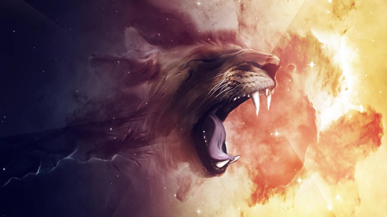 lion wallpaper 3D