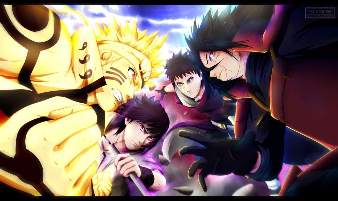 Aesthetic Naruto Dark Wallpapers
