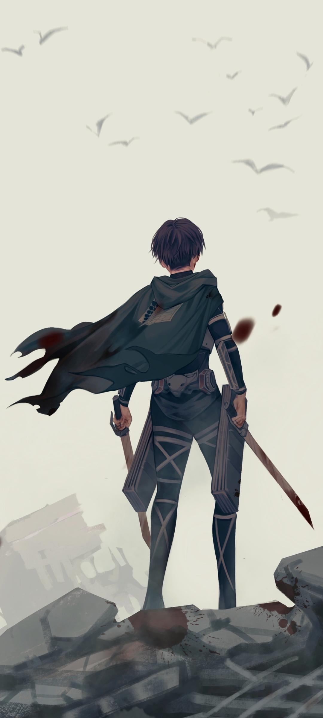 Anime Attack On Titan Uhd Wallpaper