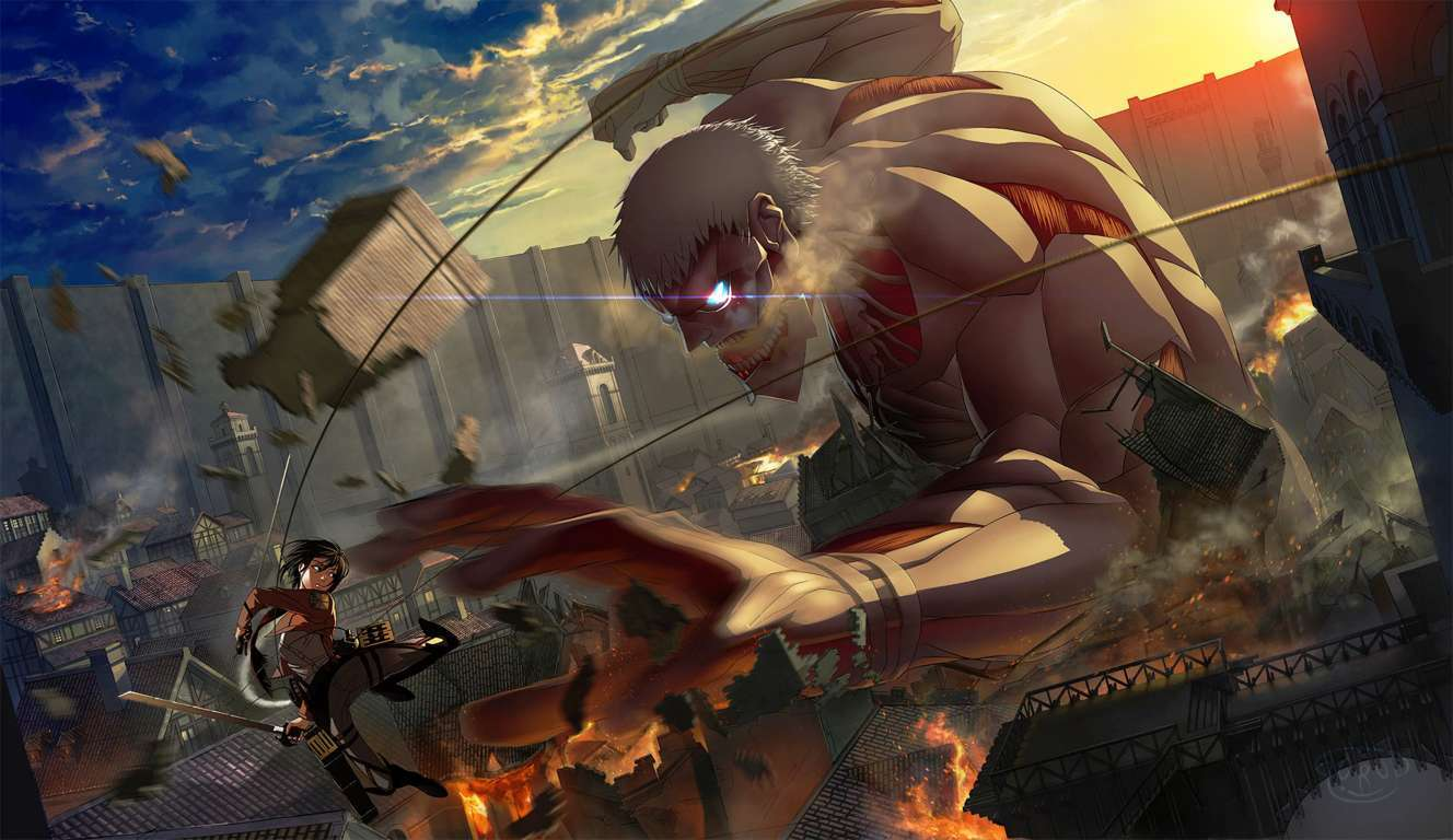 Attack On Titan 2 Uhd 4k Wallpaper Attack On Titan Cover