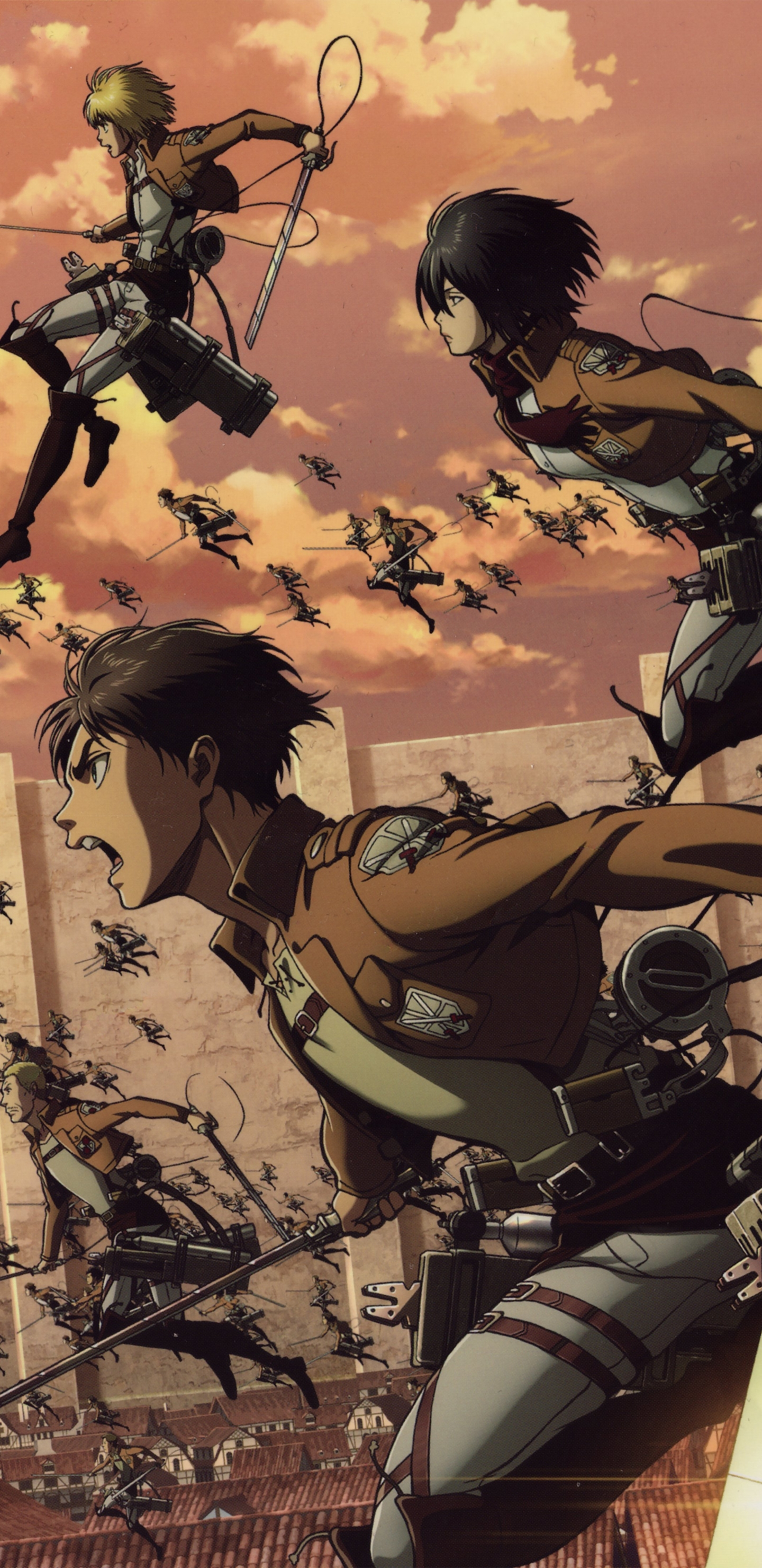 Attack On Titan Hd And Background Image Hd Wallpaper