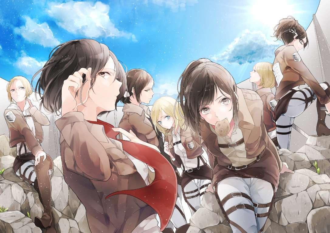 Attack On Titan Japanese Series Poster Full Hd 2k Wallpaper Tv