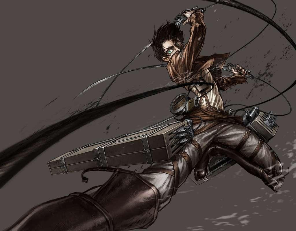 Attack On Titan Levi Kenny Ackerman Uhd Wallpaper Ackerman