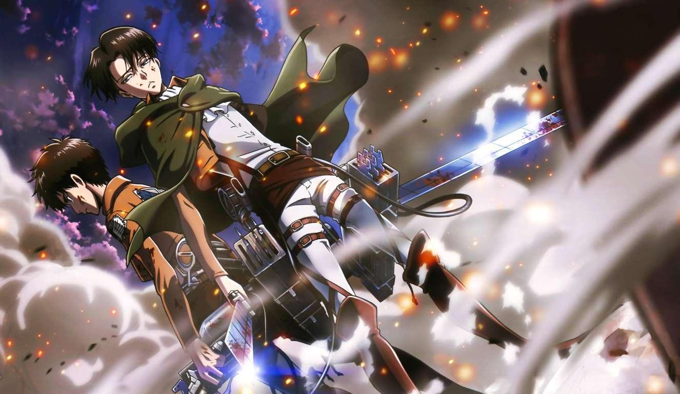 Attack On Titan Poster Wallpaper Hd Anime 4k 4k
