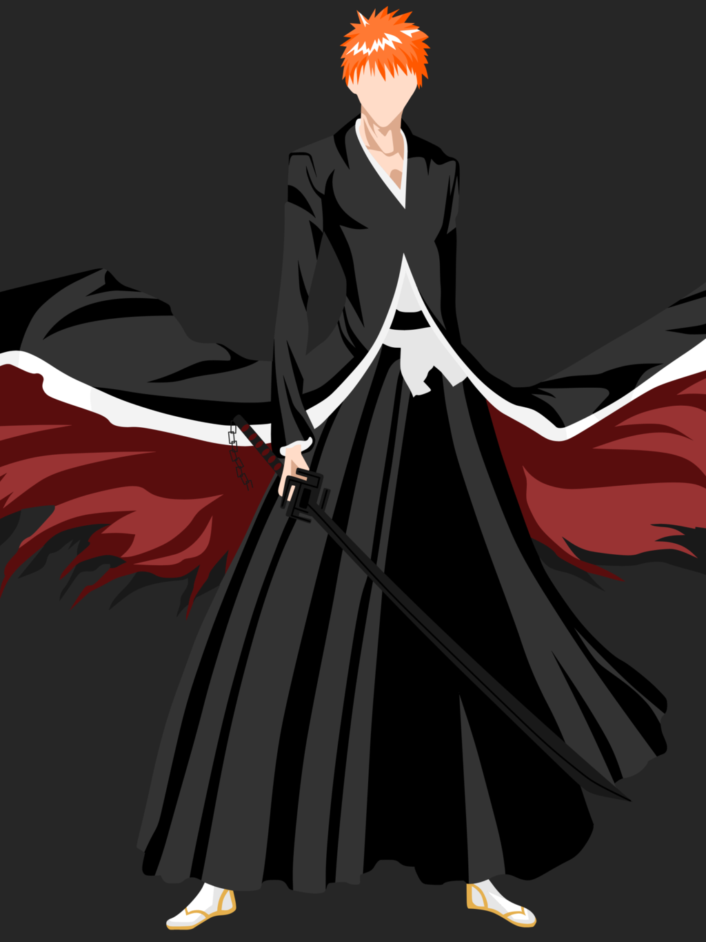 Bleach Characters Cartoon Background for Phone